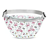 OMLEE 1, Unicorn Sport Waist Bag, Girls Transparent PVC Money Hip Pouch Bum Bag Durable Waist Pouch Belt Bag for Walking Running Hiking Shopping