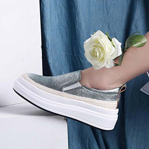 Plataforma Aire 34 eva 39 35 Mujeres de Tamaño al Ocasionales Verde Libre Antideslizante Planos Zuecos Color Verde Zapatos Tamaño Morado Las Zn8FB1Xwx
