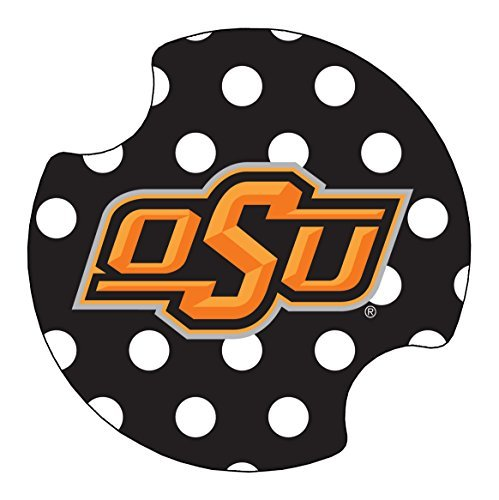 (Thirstystone Oklahoma State University Dots Car Cup Holder Coaster, 2-Pack, Model: DOSU2, Sport & Outdoor)