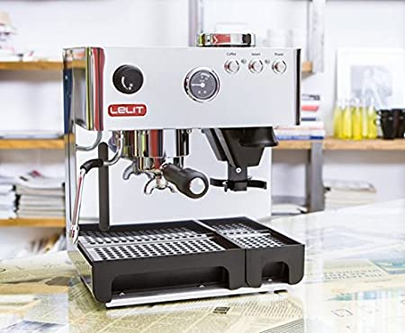 Lelit PL042EMI - Cafetera automática de 1200 W, color plateado ...
