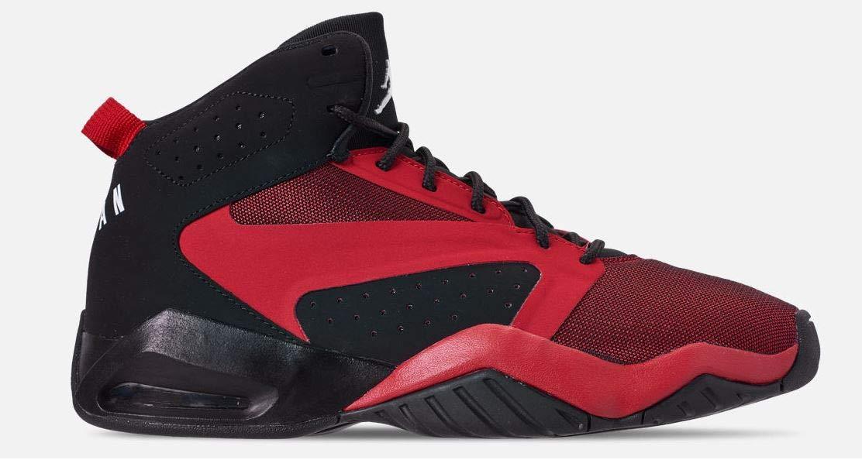 Jordan Mens Lift Off Black Gym RED White Size 9