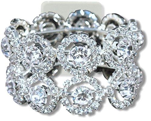 Corsage Bracelet - Lucky Flower Bracelet - Dazzle