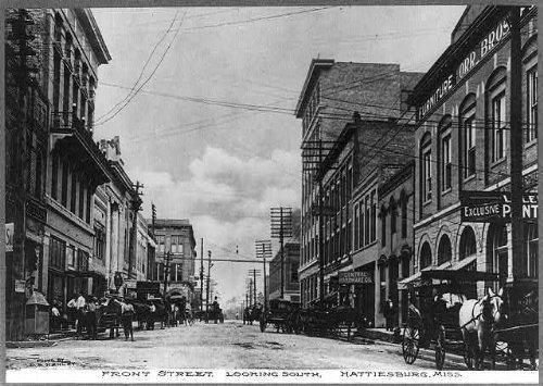 Photo: Hattiesburg,Forrest County,Mississippi,MS,Front - Hattiesburg Shopping