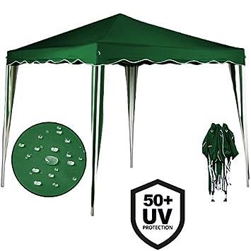 3x3 Pop Up Gazebo u201eCapriu201c Canopy Shelter Party Tent Marquee Wedding Outdoor | Free  sc 1 st  Amazon UK & 3x3 Pop Up Gazebo