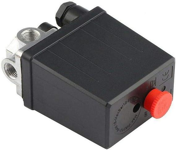 Luftkompressor Druckschalter Steuerventil Druckventil Regler Kompressorschalter Mit 4 Phasen Einphasig Mit Manometern Zur Schnellen Druckreduzierung Baumarkt