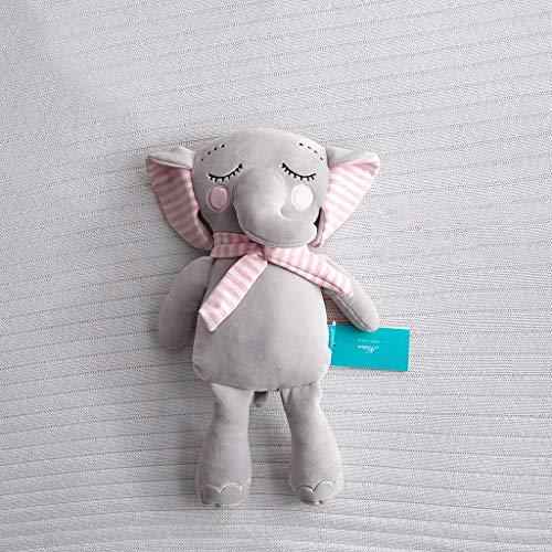 30/40cm Cartoon Elephant Baby Kids Plush Toys Animal Stuffed Soft Doll Decor Throw Pillows Cover ()