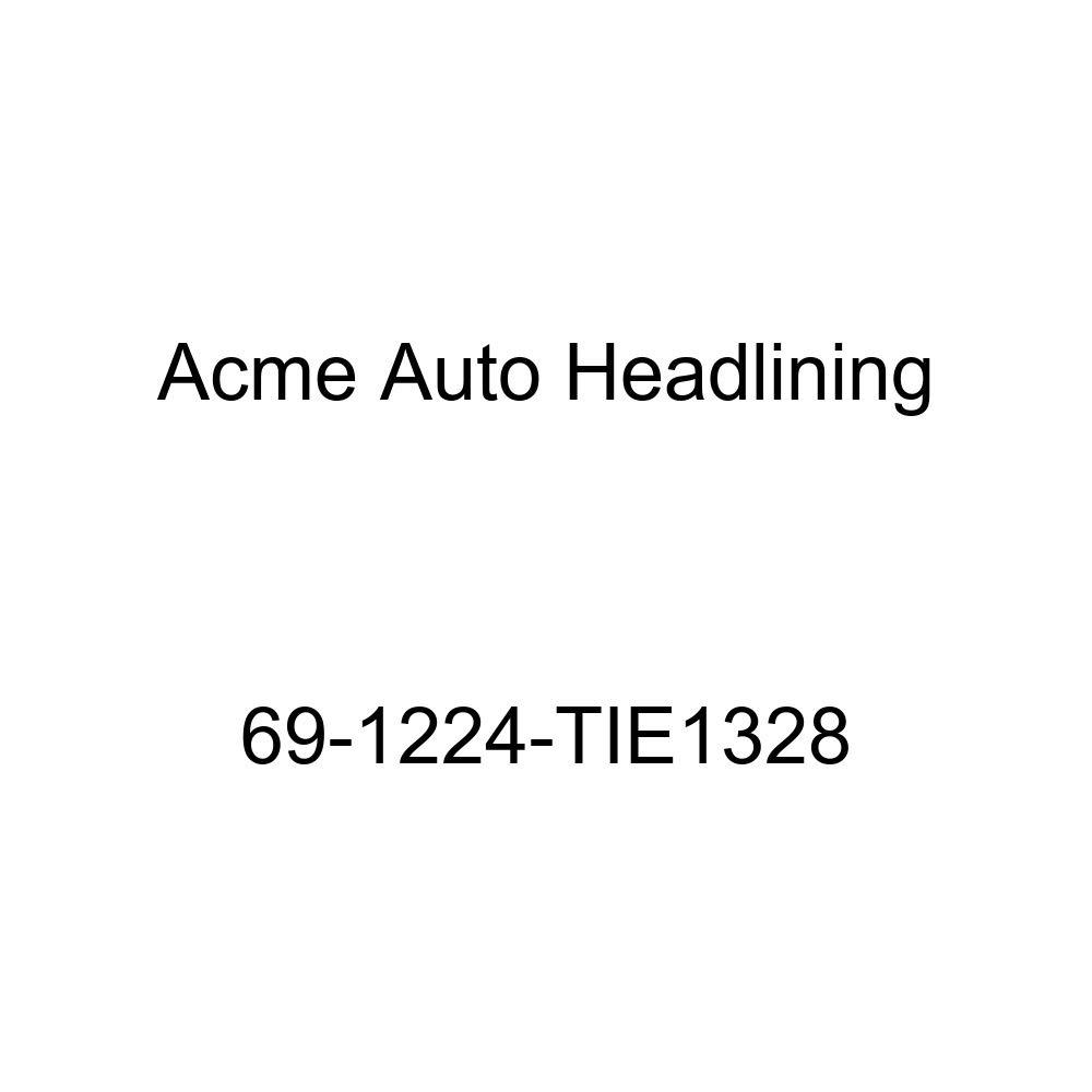 Acme Auto Headlining 69-1224-TIE1328 Red Replacement Headliner 1969 Oldsmobile Cutlass 4 Door Hardtop 6 Bow