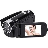 Camcorder Videocamera 1080P Full HD Digitale camcorder DV-camera Nachtzicht 16x zoom Vlogcamera met 270 graden draaibaar…