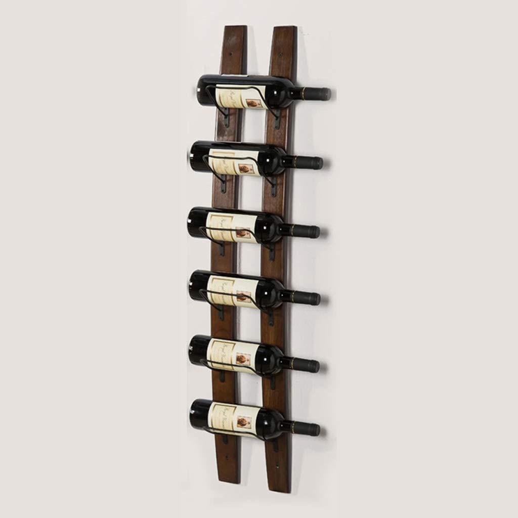 壁掛けワインキャビネットソリッドウッドバー現代のシンプルな家庭用装飾ワインラック (UnitCount : 1) B07R4Z9CG4