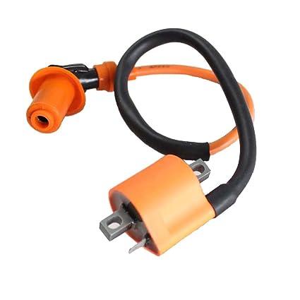Amazon Com Poweka Ignition Coil Parts For Yamaha Warrior 350 Yfm350