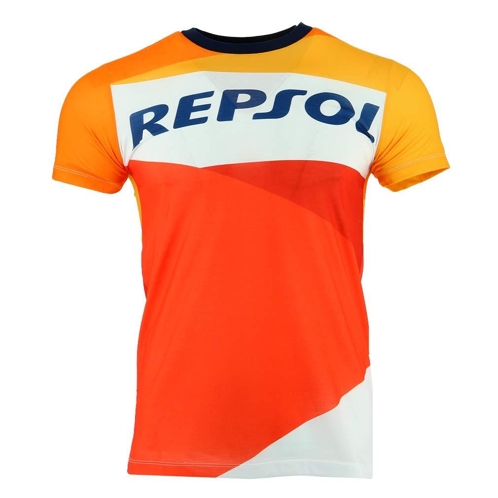 HONDA Repsol Moto GP Team Marquez, Pedrosa Large Logo Camiseta ...