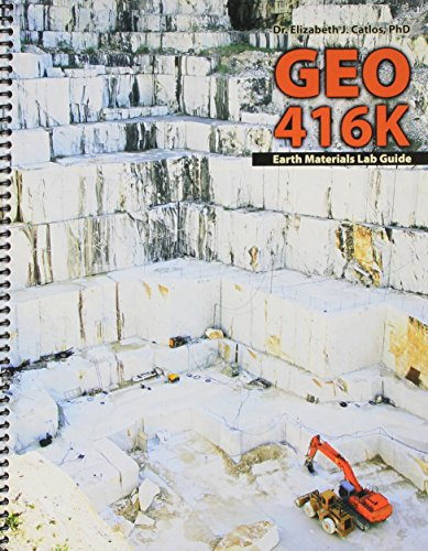GEO 416K Earth Materials Lab Guide