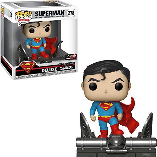 (Funko Pop Dc Comics Superman Jim Lee Deluxe 278 Exclusive Vinyl Figure )