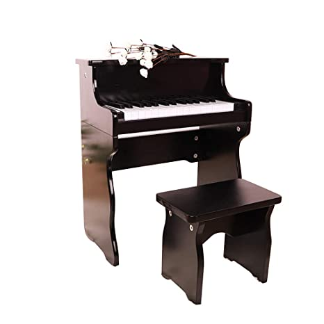 LIUFS-El teclado Piano Electrónico De 30 Teclas Para Piano De Madera Para Niños De