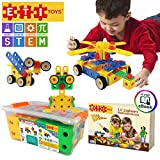 ETI Toys | STEM Learning | Original 172 Piece Educational Construction Engineering Building Blocks Set for 3, 4 and 5+ Year Old Boys & Girls | Creative Fun Kit | Best Toy Gift for Kids Ages 3yr – 6yr