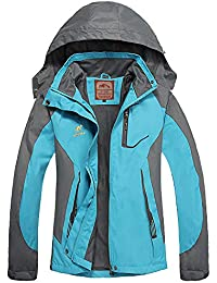 Waterproof Rain Jackets Women Lightweight Ladies Jacket...