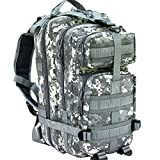 CVLIFE Outdoor Tactical Backpack Military Rucksacks for Camping Hiking and Trekking Waterproof 30L