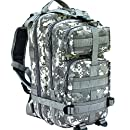 CVLIFE Outdoor Tactical Backpack Military Rucksacks for Camping Hiking Waterproof 30L (ACU)
