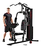 Marcy Eclipse HG3000 Compact Home Gym with Weight Stack, 68 kg