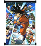 "1 X Dragon Ball Z Anime Fabric Wall Scroll Poster (16""x22"") Inches"