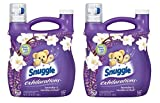 Snuggle Exhilarations Liquid Fabric Softener, White Lavender & Sandalwood Twist, 96 oz (Pack of 2)