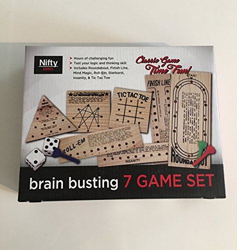 Nifty Games Brain Busting 7 Game Set