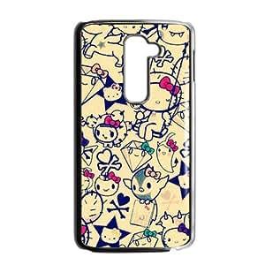 SANLSI Hello kitty Phone Case for LG G2 Case