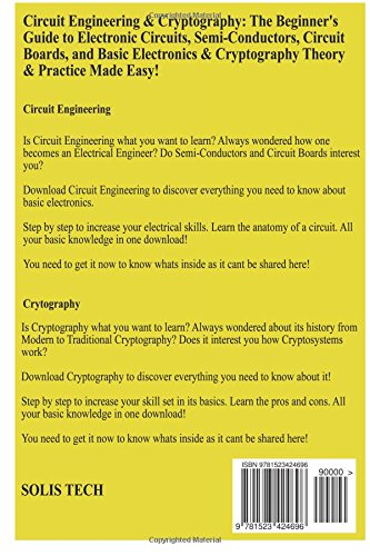 Circuit Engineering & Cryptography: Solis Tech: 9781523424696 ...
