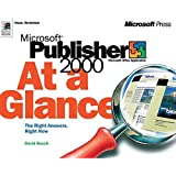 Microsoft Publisher 2000 at Glance (At a Glance (Microsoft)) by Inc. Perspection (1999-05-01)