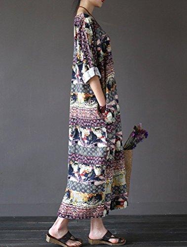 MatchLife - Vestido - vestido - para mujer morado