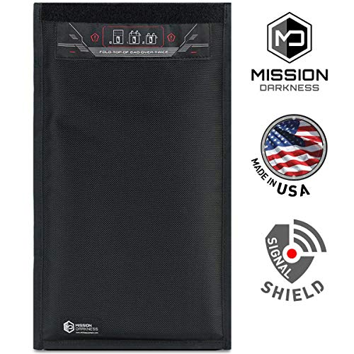 Mission Darkness Non Window Faraday Bag For Tablets Device