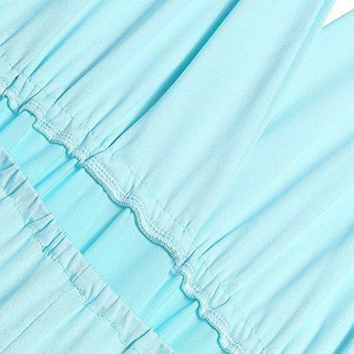 Bleu Robe Dress Bandage ete V Sexy Femme Noces Soire Col Cocktail Longue Soire Varit Bretelles Elgante Dos Robe Epaule Chic Long Bande Nu Au Clair Robes xpwqSPw