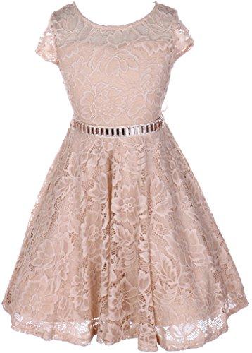 Jewel Trim Dress - 6