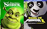 Kung Fu Panda 2 (Blu-ray/DVD/DHD Combo) & Shrek (Icons Edition) 2 (Blu-ray/DVD/DHD Combo) 2-Blu-ray Animated Family Fun Bundle Set