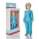 Hillary Clinton isn't just ready for action, she's a ready-for-action figure! Designed from the original artwork of Mike Leavitt, this awesome Hillary Clinton action figure features the Democratic presidential hopeful in her signature light blue pant...
