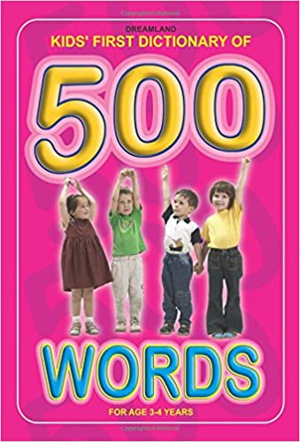 buy kids first dictionary of 500 words kids first second third