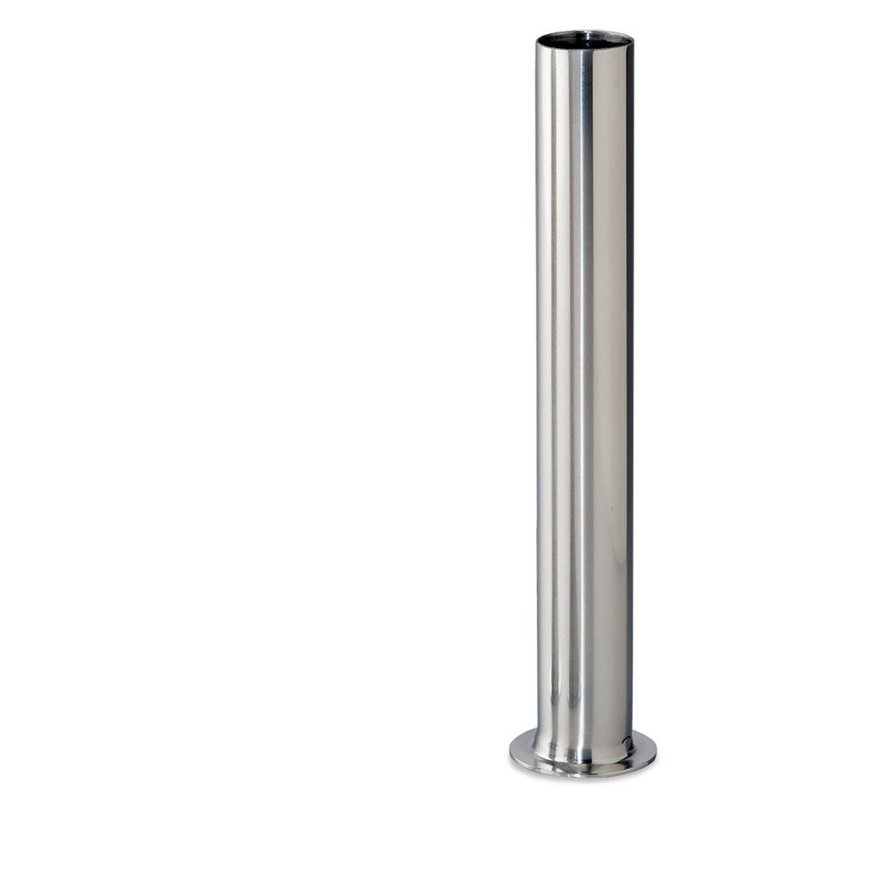 Stuffing Tube - 1inch OD Stainless Steel 1-9/16inch Base