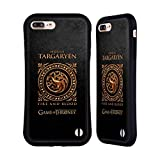 Official HBO Game Of Thrones Targaryen Metallic Sigils Hybrid Case for Apple iPhone 7 Plus / 8 Plus