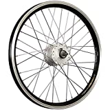 Taylor-Wheels 20 Zoll Vorderrad Grünert Dynamic4 Shimano Dynamo DH-C3000 Schwarz