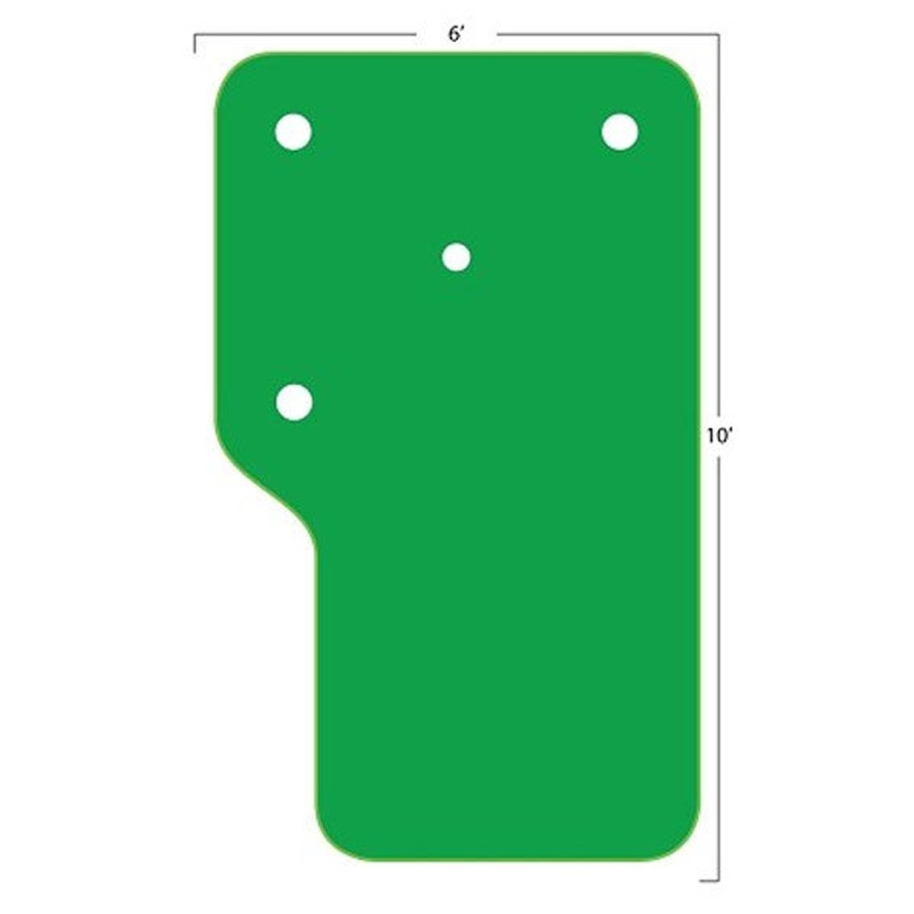 Big MossゴルフThe Country Club 6 ' x 10 ' Practice Putting Chipping Green   B0094IXVH8
