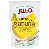 JELL-O Simply Good Banana Instant Pudding Mix, 3.4 oz (Banana)