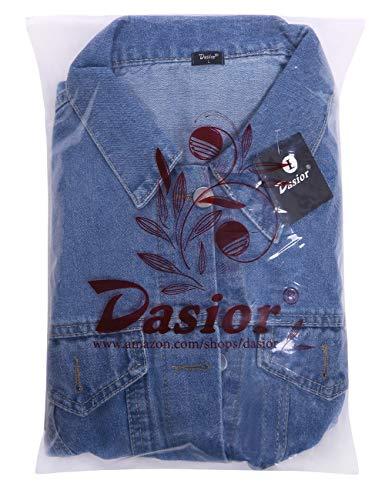 aea1e8e45d67 Jual Dasior Women s Boyfriend Denim Jackets Long Sleeve Loose Jean ...