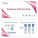 Ovulation Test Strips and Pregnancy Test Strips Combo Kit Easy Test Strips (50LH+20HCG)