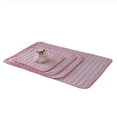 YYQ Summer Cooling Mats Manta Ice Pet Dog Esteras de Cama ...