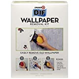 Zinsser DIF Wallpaper Removal Kit. Quickly and Safely Removes Old Wallpaper in 3 Simple Steps.