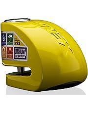 Xena XX6J 052291 diefstalbeveiliging, remschijfslot met alarm, geel
