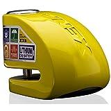 XENA Disk-Lock Bloccadisco con allarme 6mm Giallo XX6 (Lucchetti...