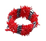 JYX Coral Necklace Red Coral Stick Magnetic Bracelet Multi-uses
