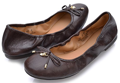 Pictures of Eureka USA Women's Universe Leather Ballet Flat 8 M US 6