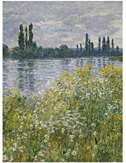 claude monet banks of the seine vetheuil notebook decorative notebook 70 sheet ruled 85 x 11